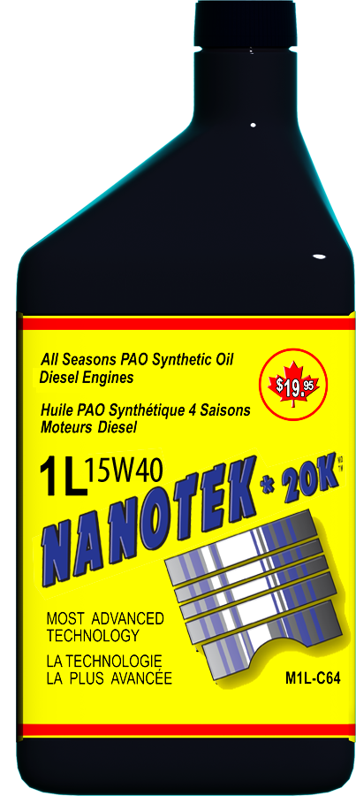 Nanotek Synthetic Oil